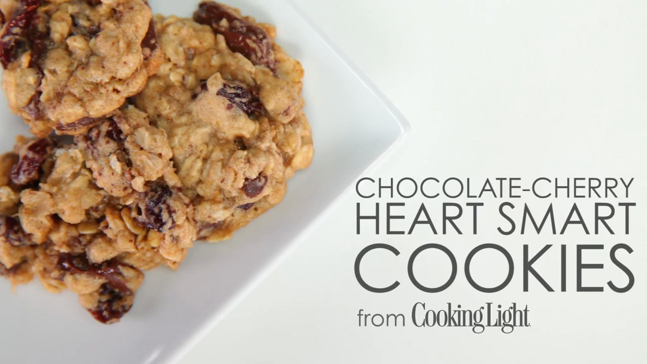 How to Make Chocolate-Cherry Heart Smart Cookies