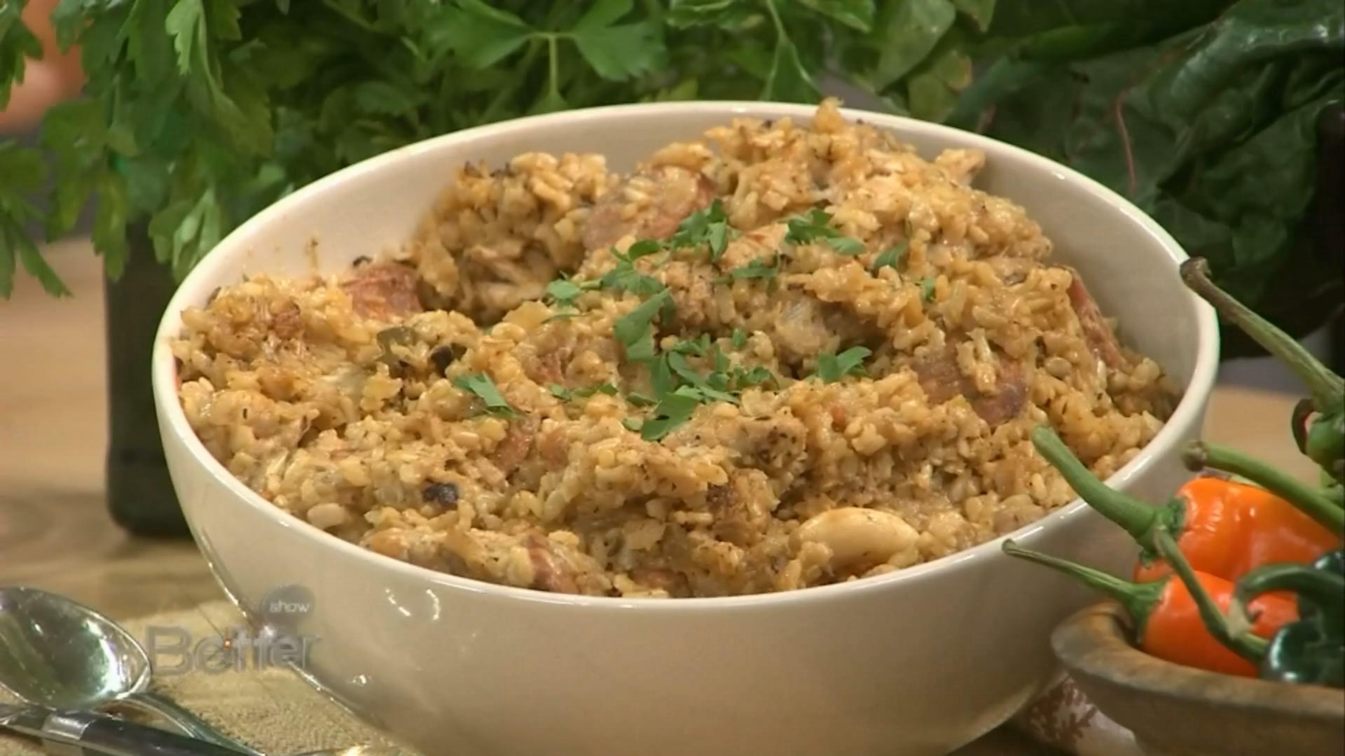 Chef Leticia Moreinos Schwartz's Arroz Con Pollo Recipe