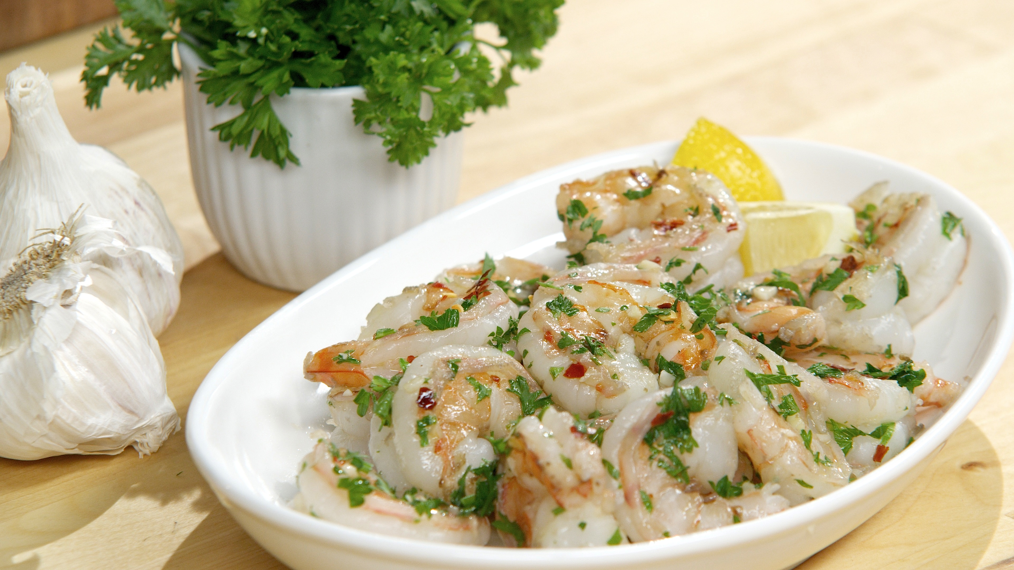Garlic Shrimp Appetizer Recipe