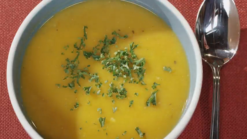 Roasted Sweet Potato Soup Recipe