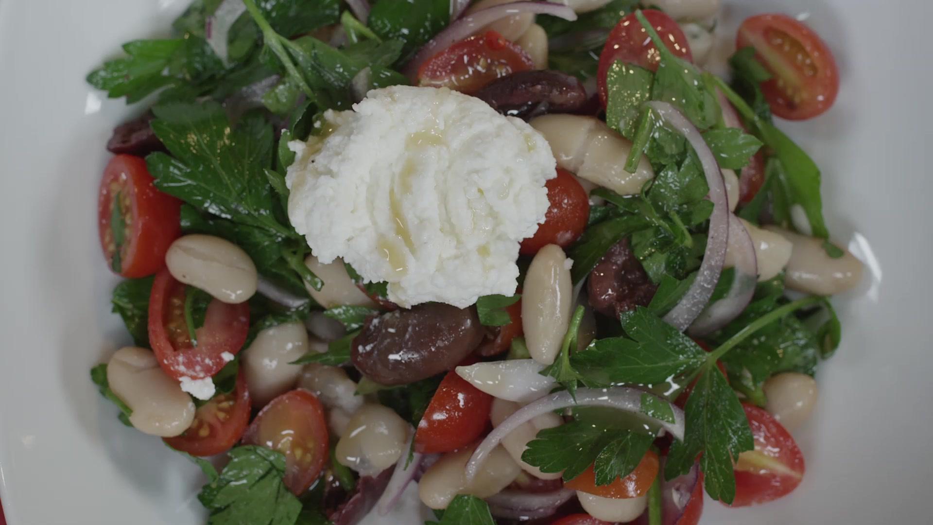 Ricotta and White Bean Salad Recipe