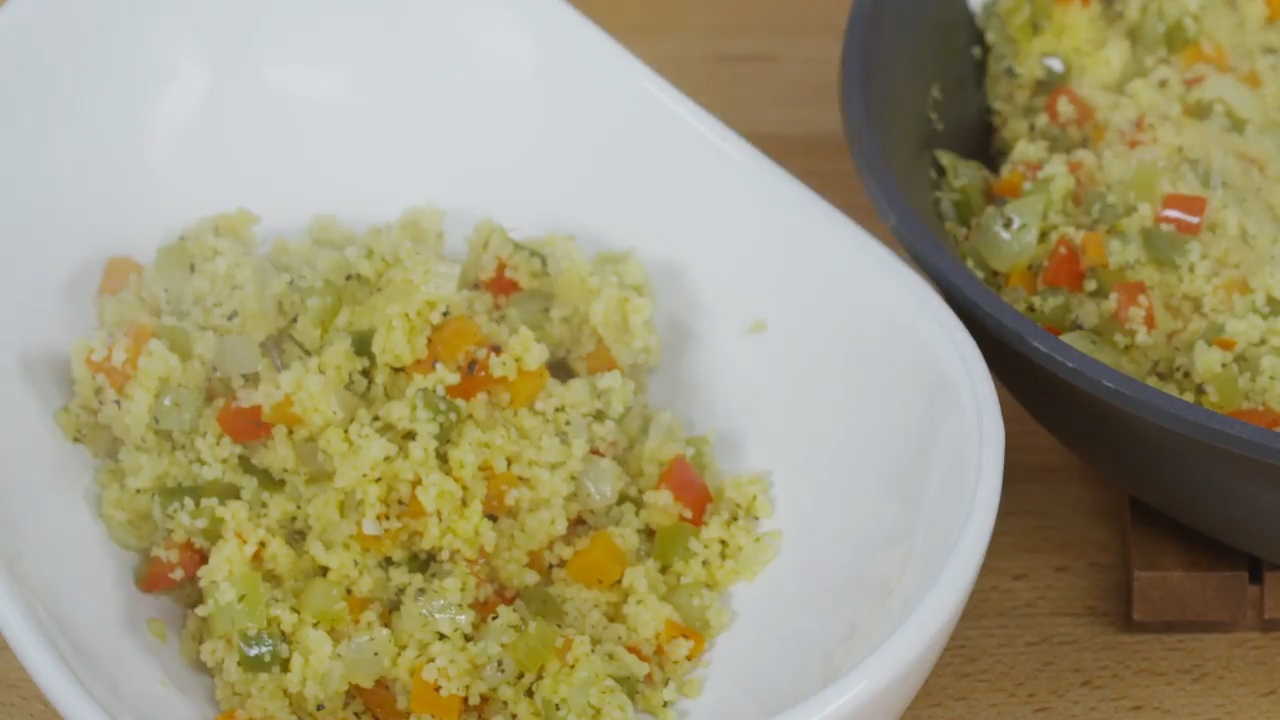 Lemon and Herb Vegetable Couscous Recipe