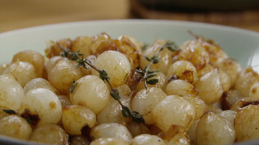 How to Make Wine Glazed Pearl Onions