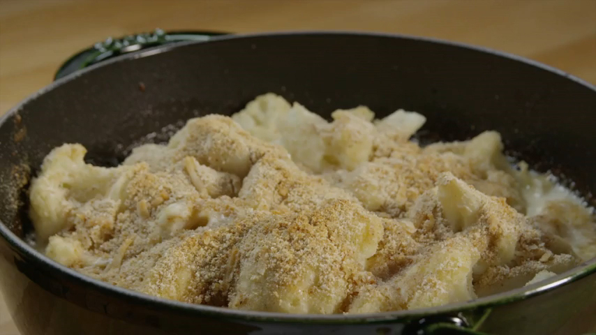 How to Make a Cauliflower Gratin