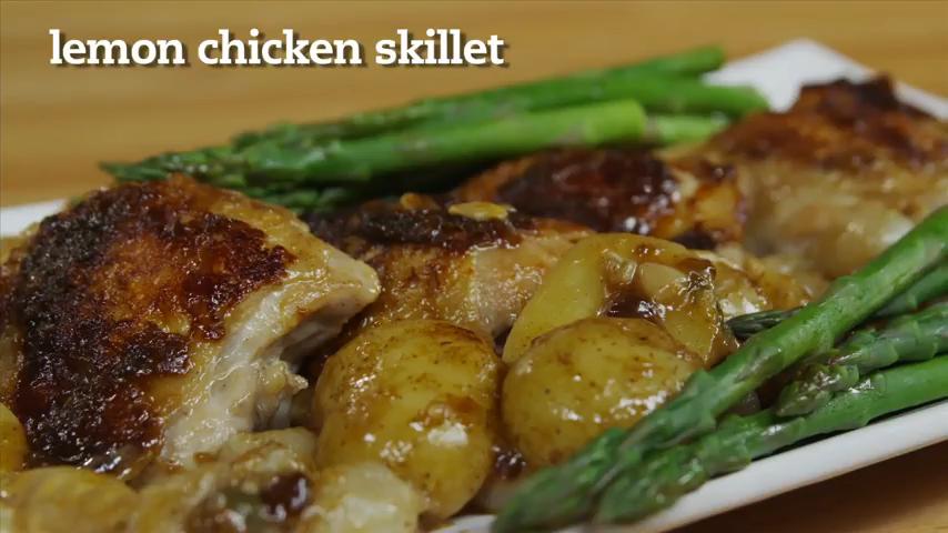 Lemon Chicken Skillet Recipe