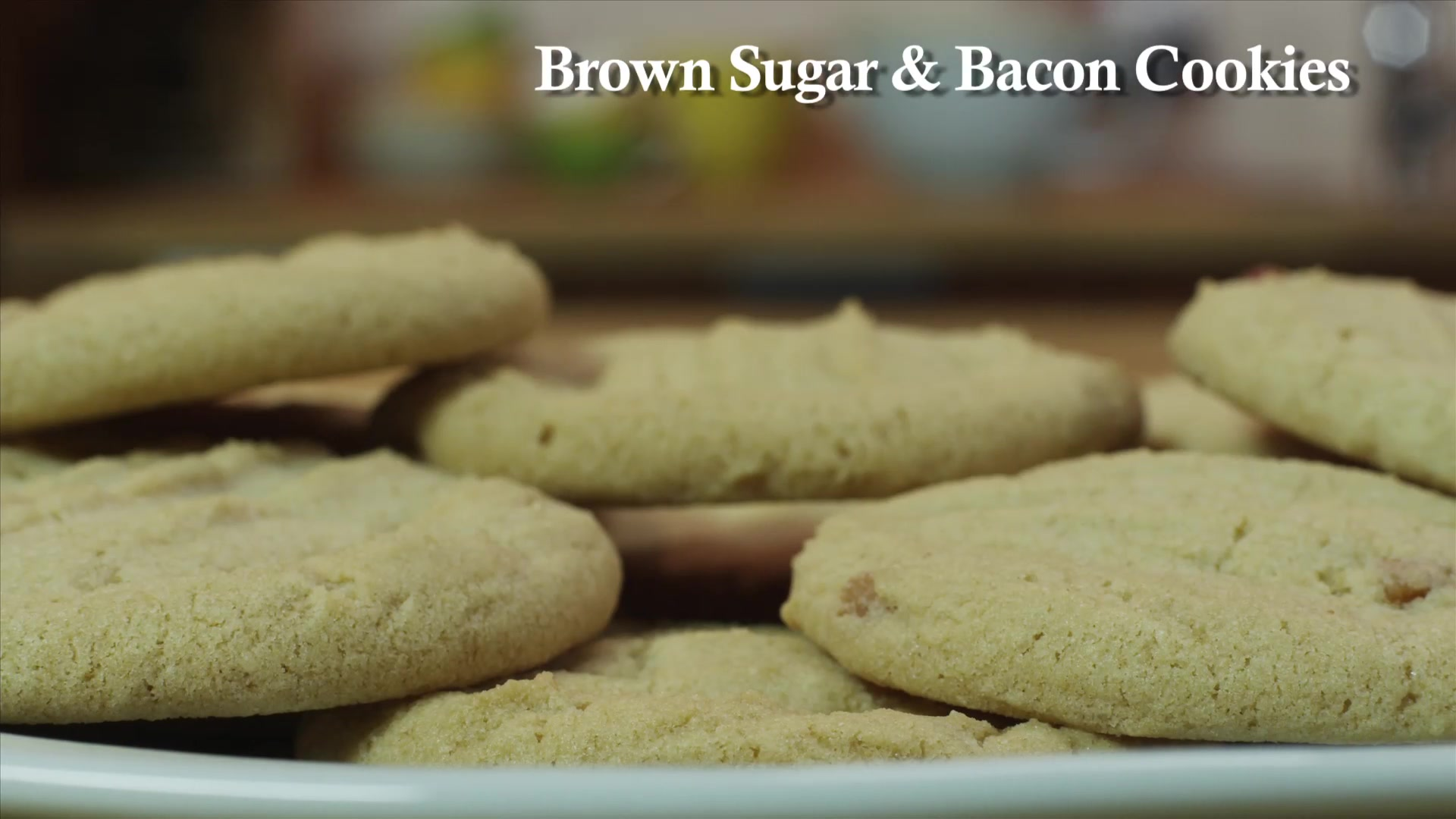 How to Make Brown Sugar Bacon Cookies