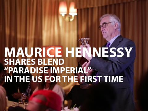 Maurice Hennessy on How to Drink Hennessy Paradis Imperial