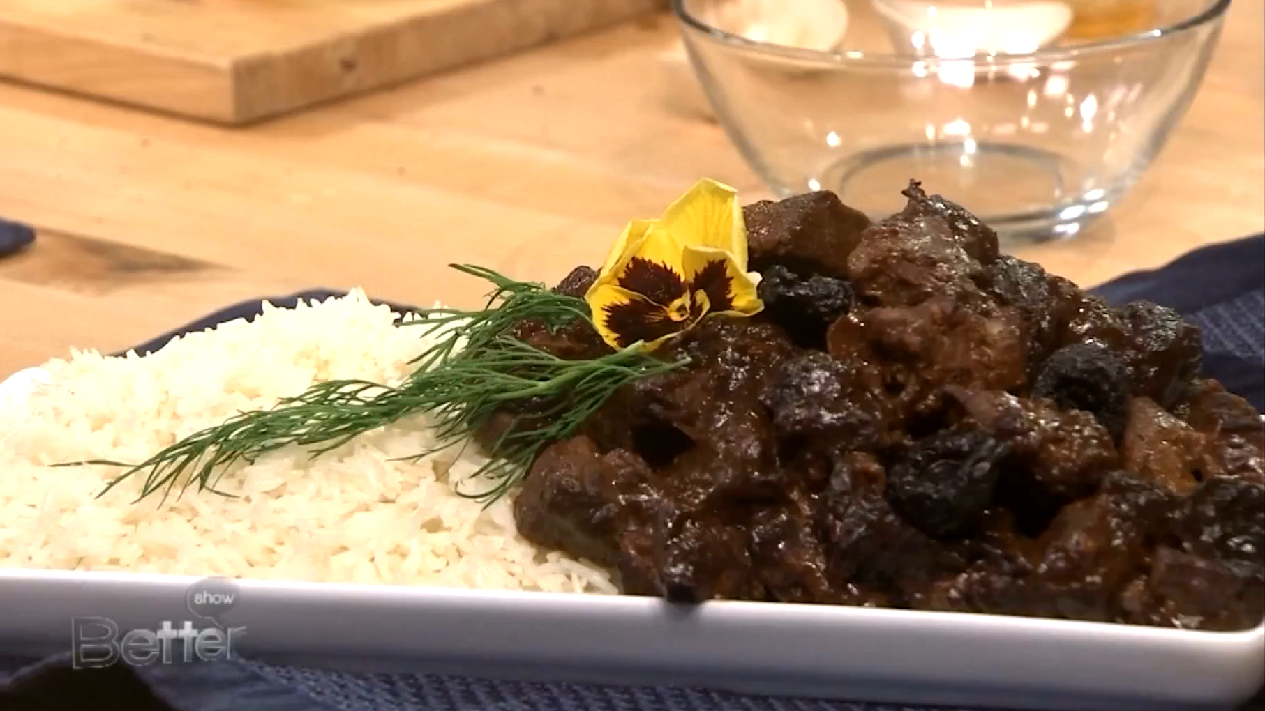 How to Make Lamb with Prunes Stew for Passover