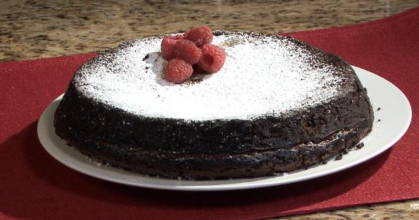 How to Make a Flour-Free Chocolate Cake