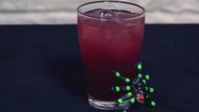 How to Make a Cider and Blackcurrant Witch Cocktail