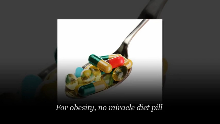 There Is No Miracle Diet Pill for Obesity