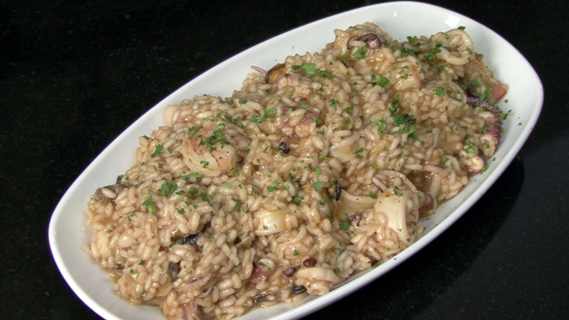 Quick Dinner Recipes: Seafood Risotto