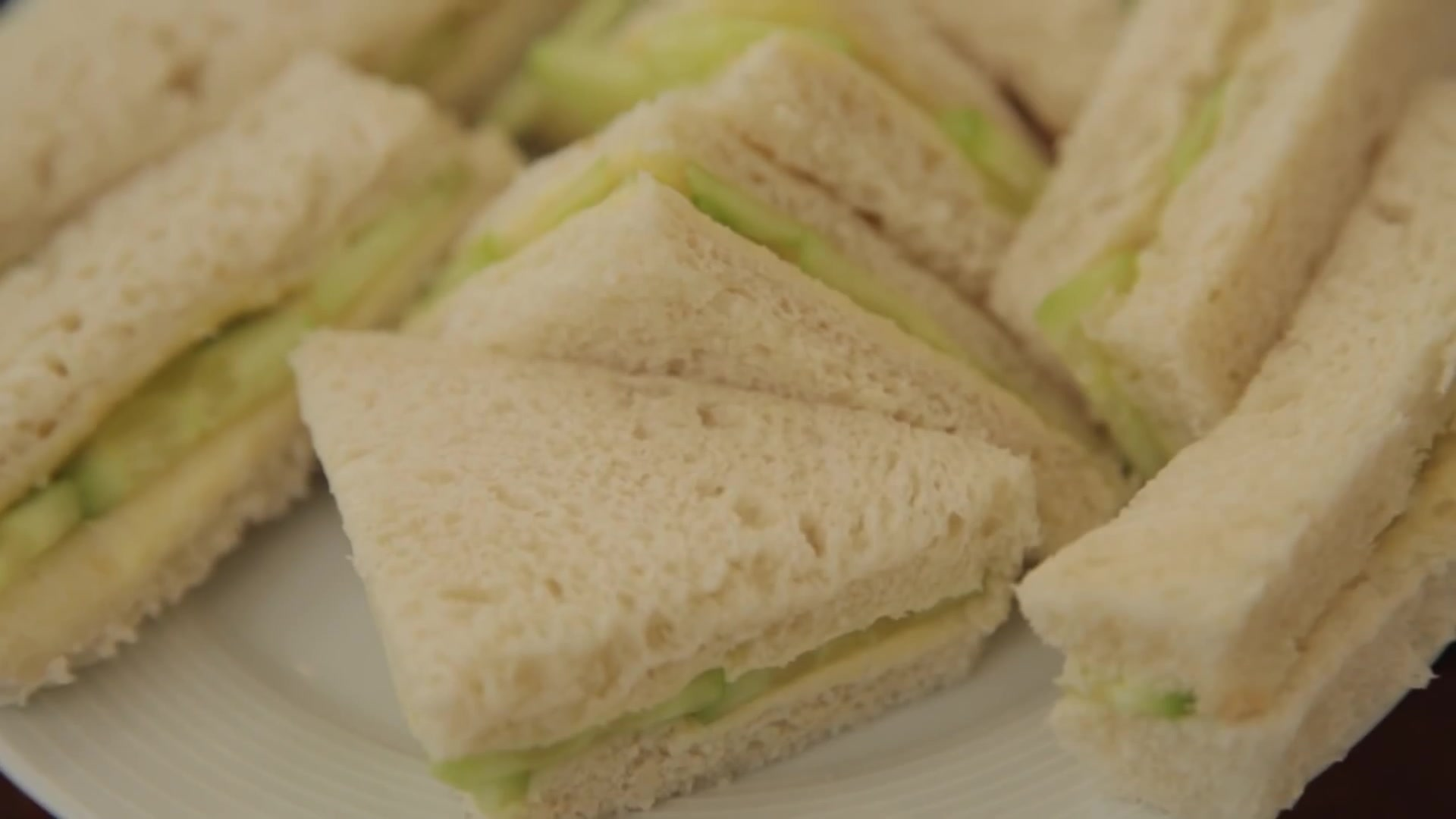 How to Make English Cucumber Sandwiches