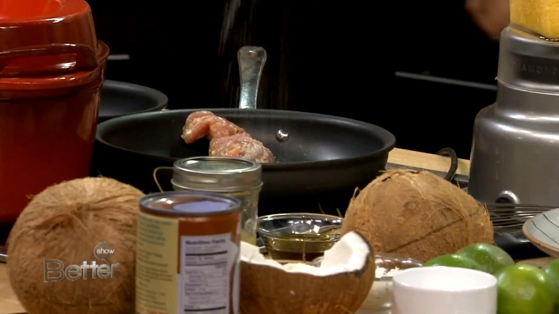 Chef Ronaldo Linares' Citrus Marinade Pork Tenderloin Recipe
