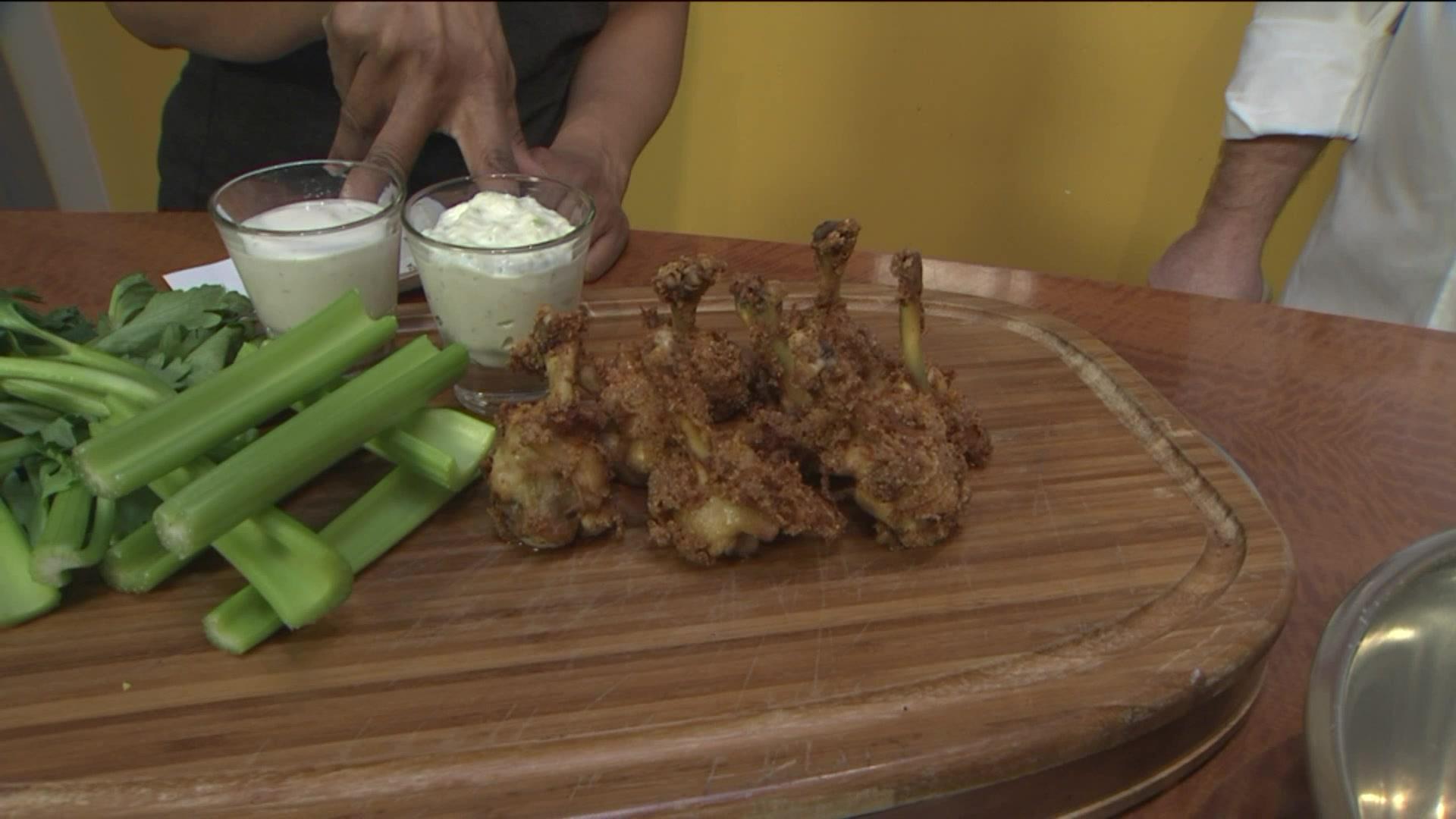 Super Bowl Snacks: How To Make Buffalo Chicken Lollipops