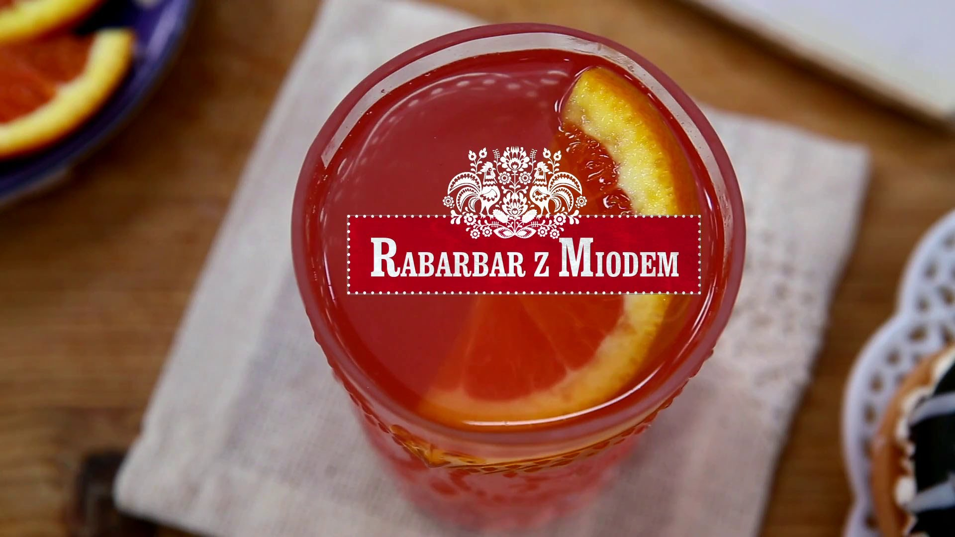 How to Make Rabarbar Z Miodem (Polish Rhubarb Drink)