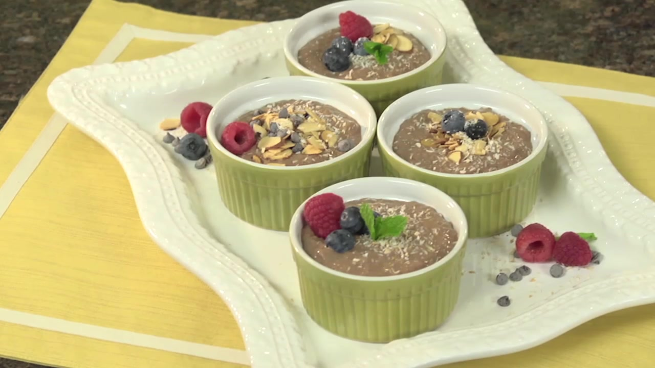 How to Make a Healthy Chocolate Pudding