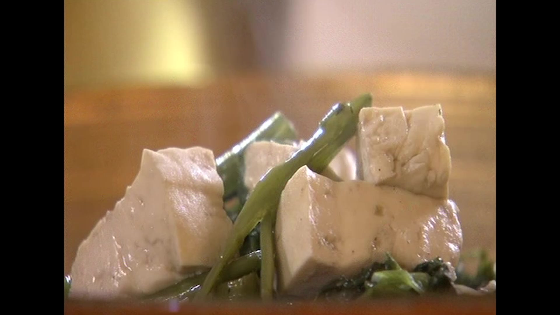 How to Make Stir-Fried Morning Glory With Silky Tofu By Gok Wan
