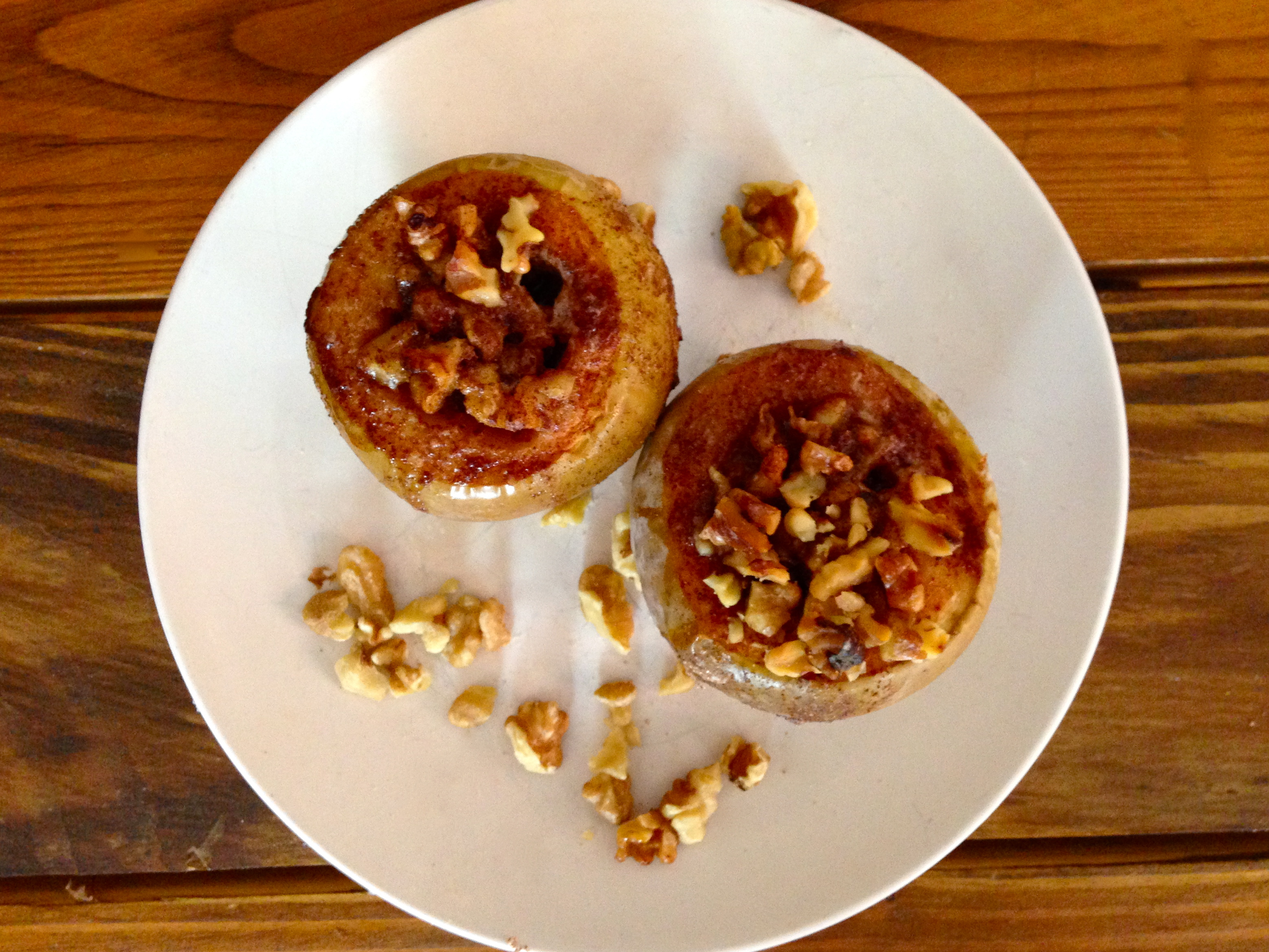 How to Make Brown Sugar Baked Apples With Bourbon