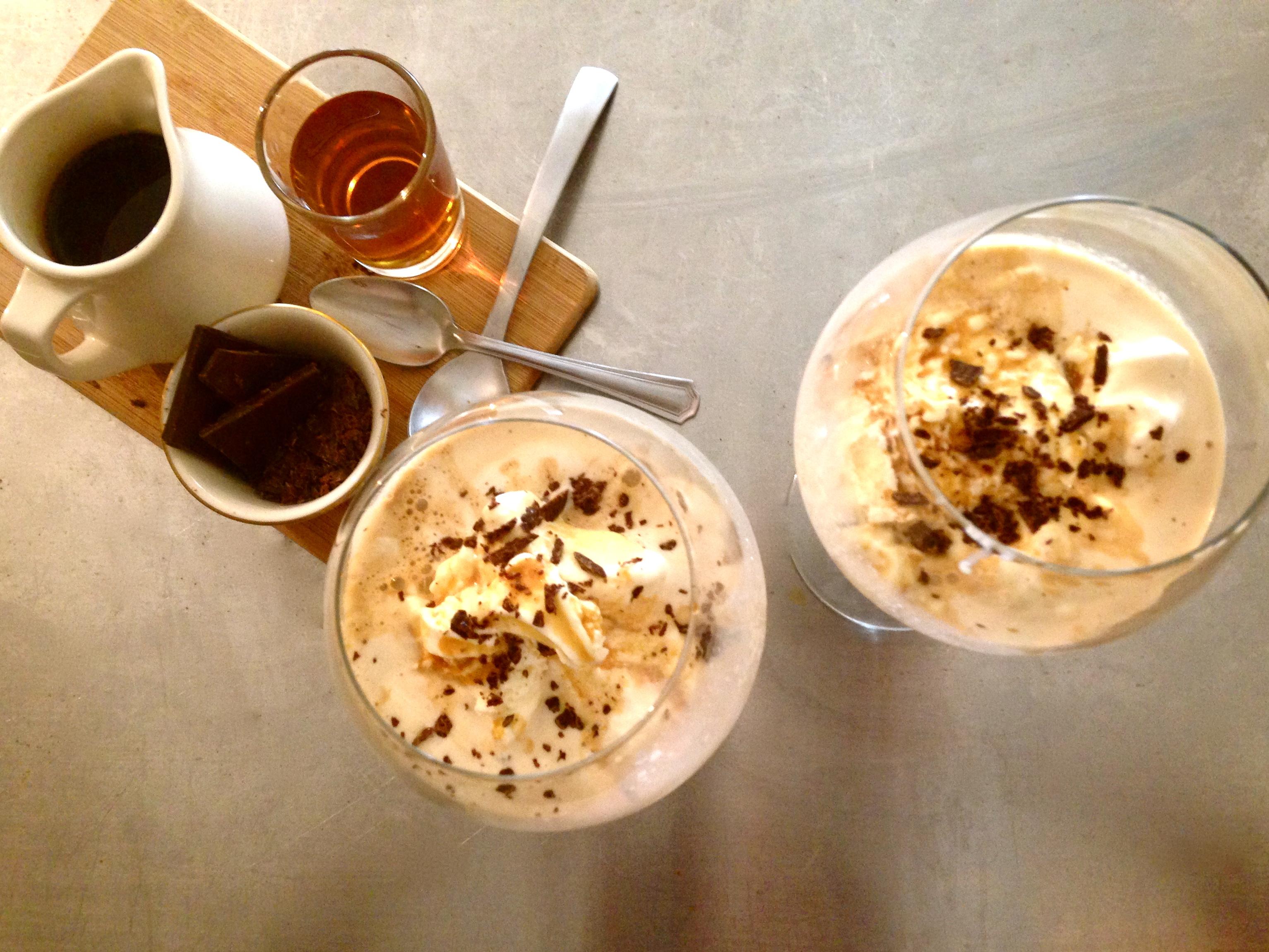 Tipsy Affogato Dessert Recipe