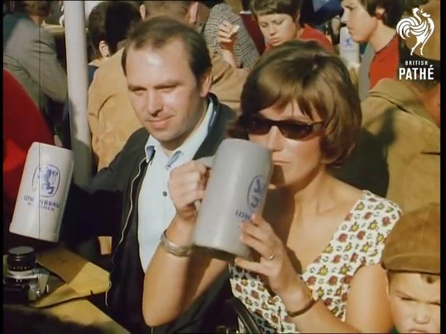 Footage From Oktoberfest 1969