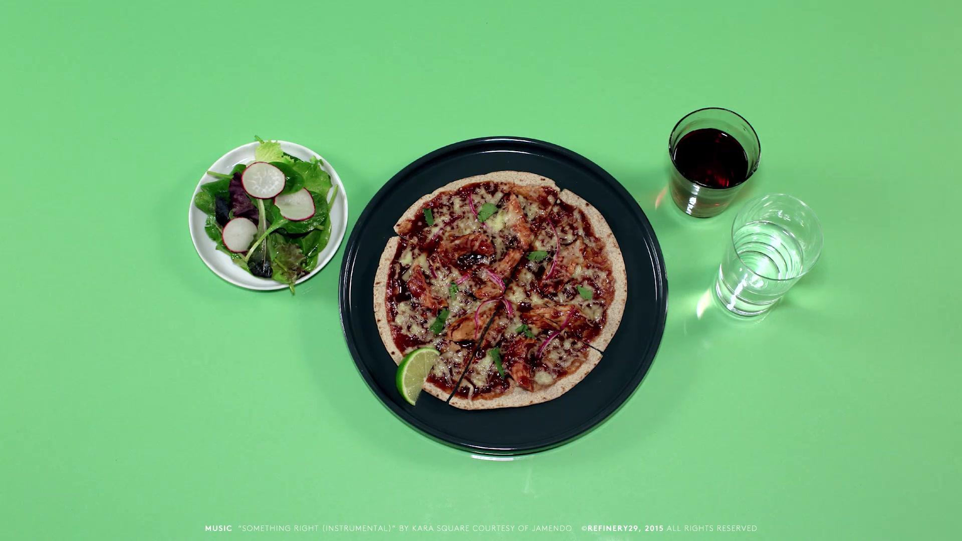 Weight Watchers' Tortilla Pizza Recipe