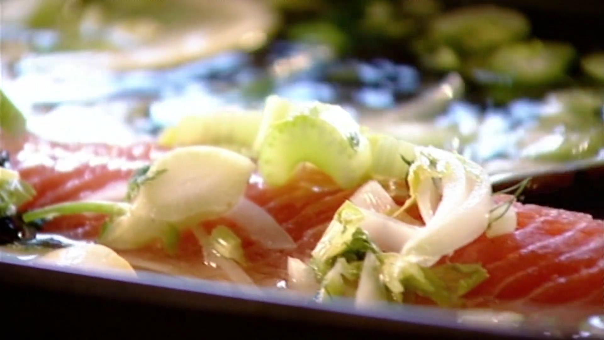 The Perfect Poached Salmon Recipe - Gordon Ramsay