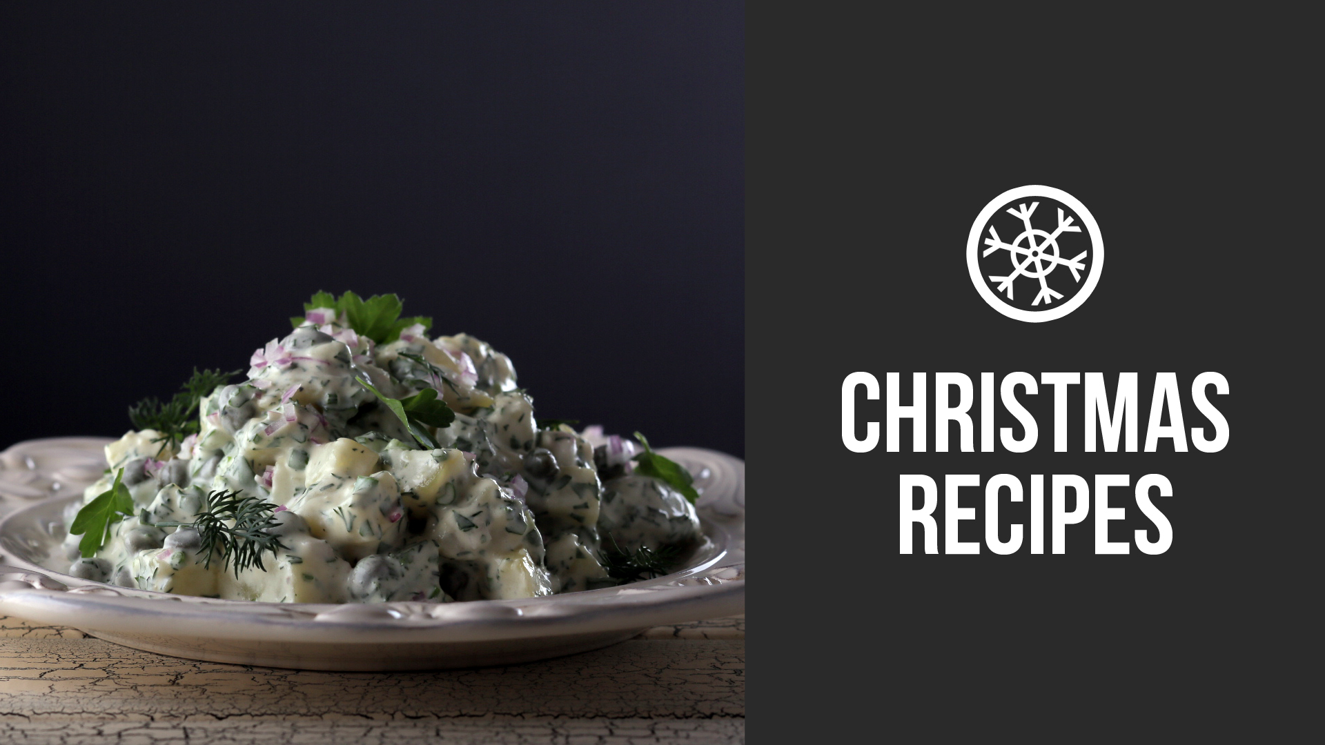 Christmas Potato Salad Recipe