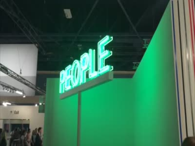 Gavin Brown's 'People' Neon Sculpture