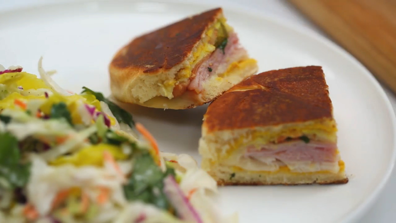How to Make a Pressed Cubano with Bacon
