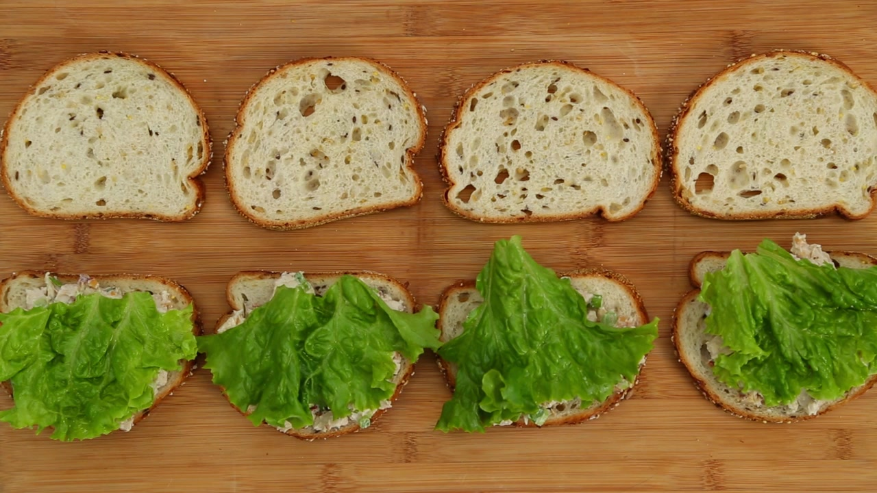 How to Make Rosemary Chicken Salad Sandwiches