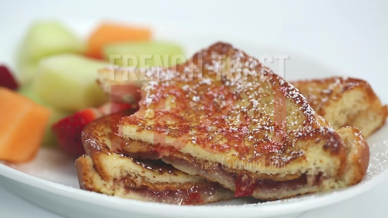 How to Make French Toast Peanut Butter and Jelly