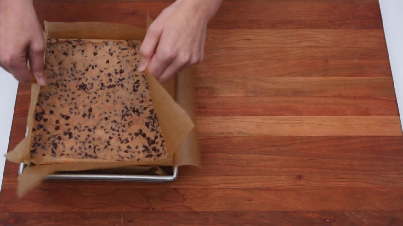 Learn to Make a Cookie Dough Ice Cream Sandwich
