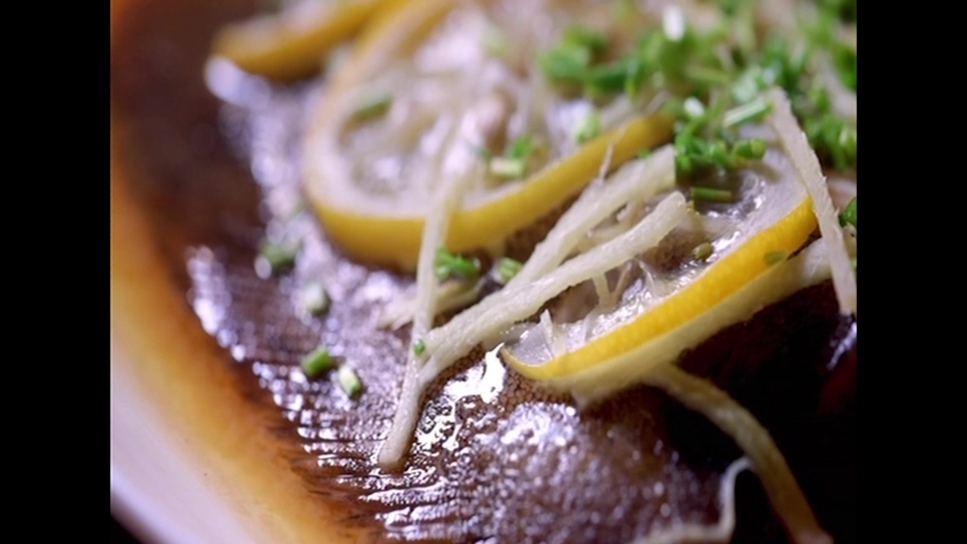 Steamed Lemon and Ginger Sole Recipe
