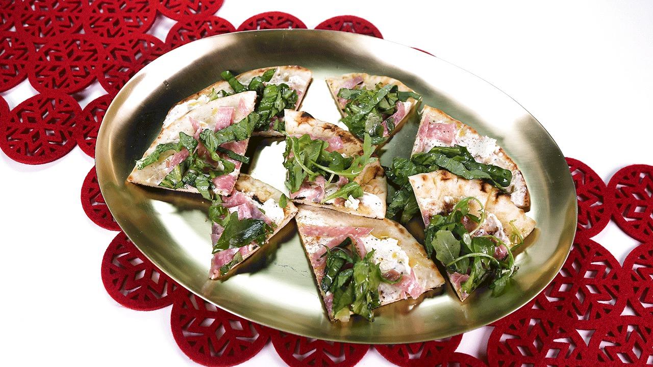 'The Chew': Festive Salami Flatbread