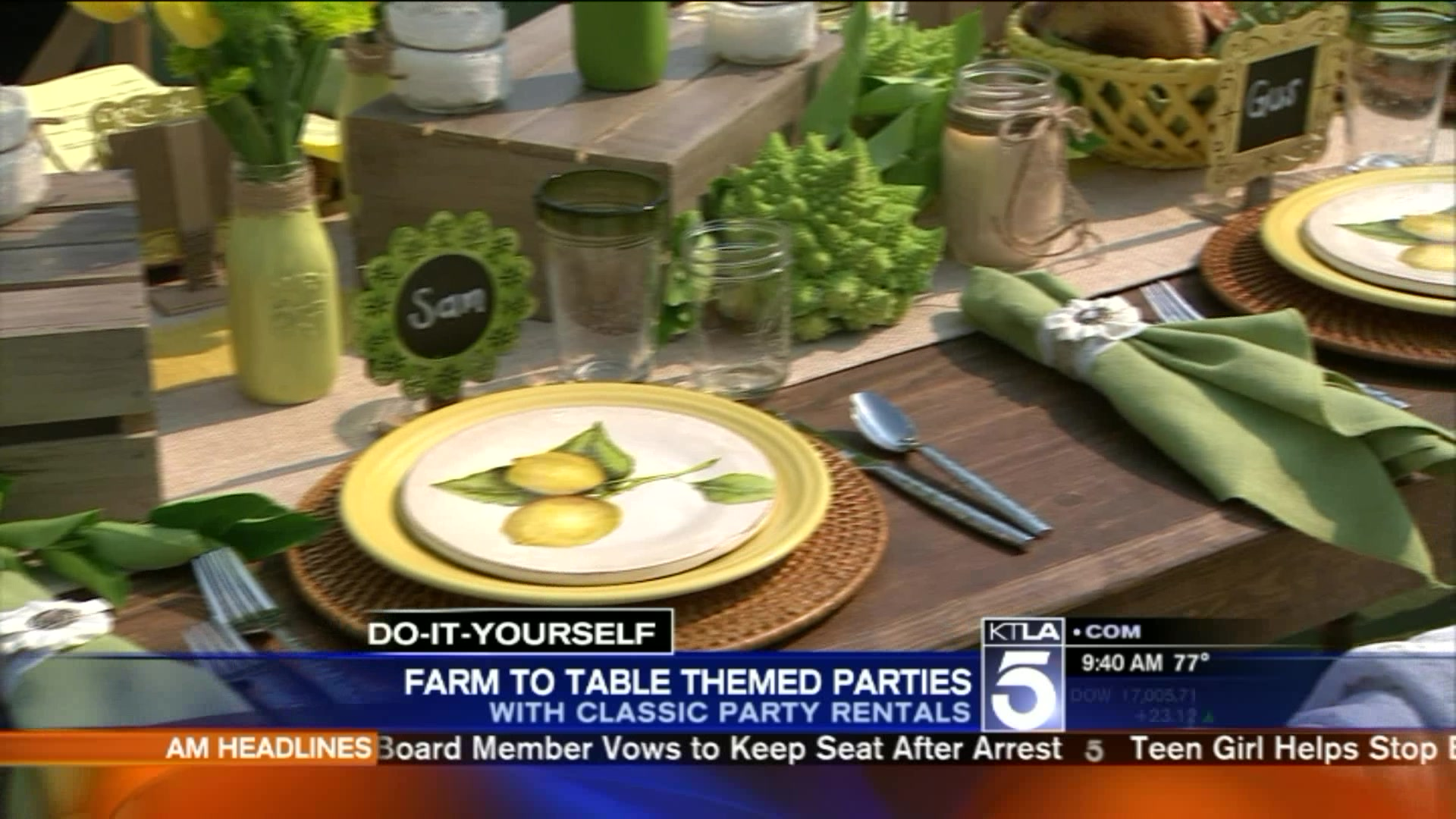Summer Trends: How To Host Your Own Farm-To-Table Party
