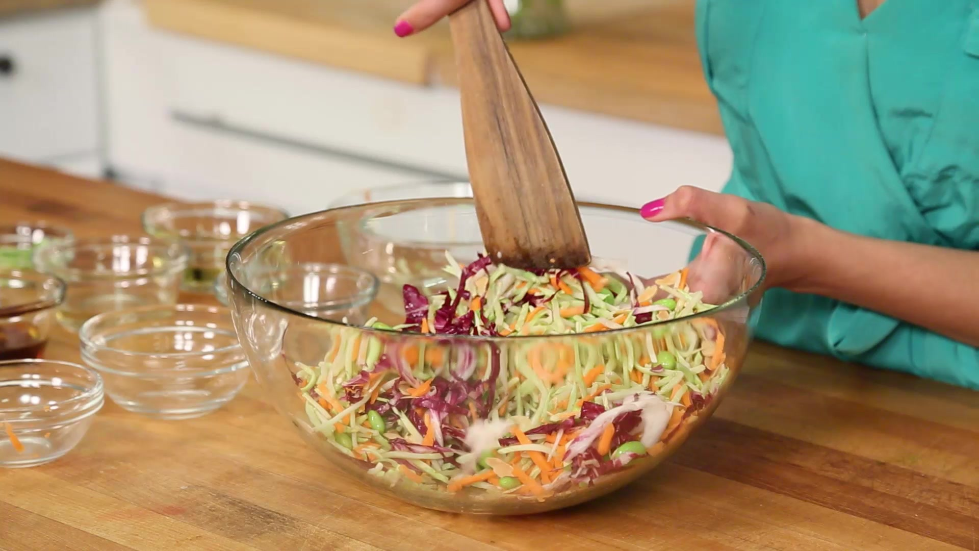 How to Make an Asian Broccoli Slaw with Quinoa