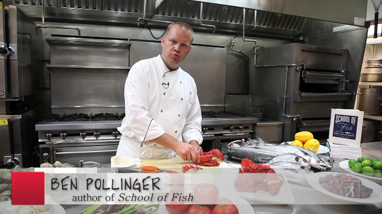 Chef Ben Pollinger's Tips How to Clean a Lobster