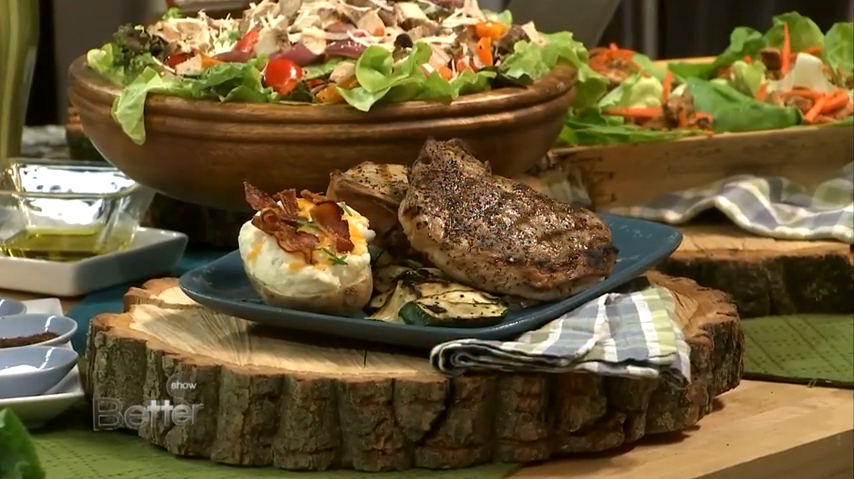Ray 'Dr. BBQ' Lampe's Coffee Crusted Pork Chops Recipe