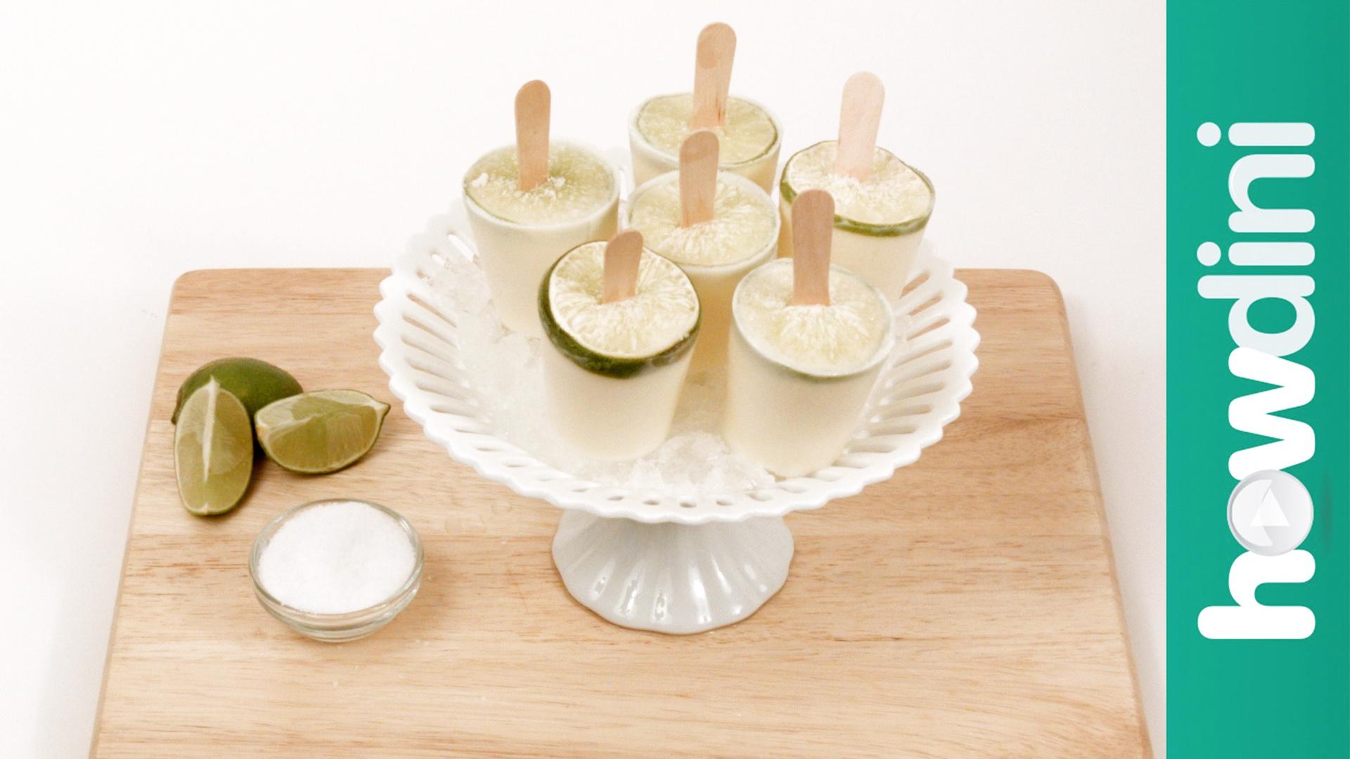How to Make Margarita Creamsicles