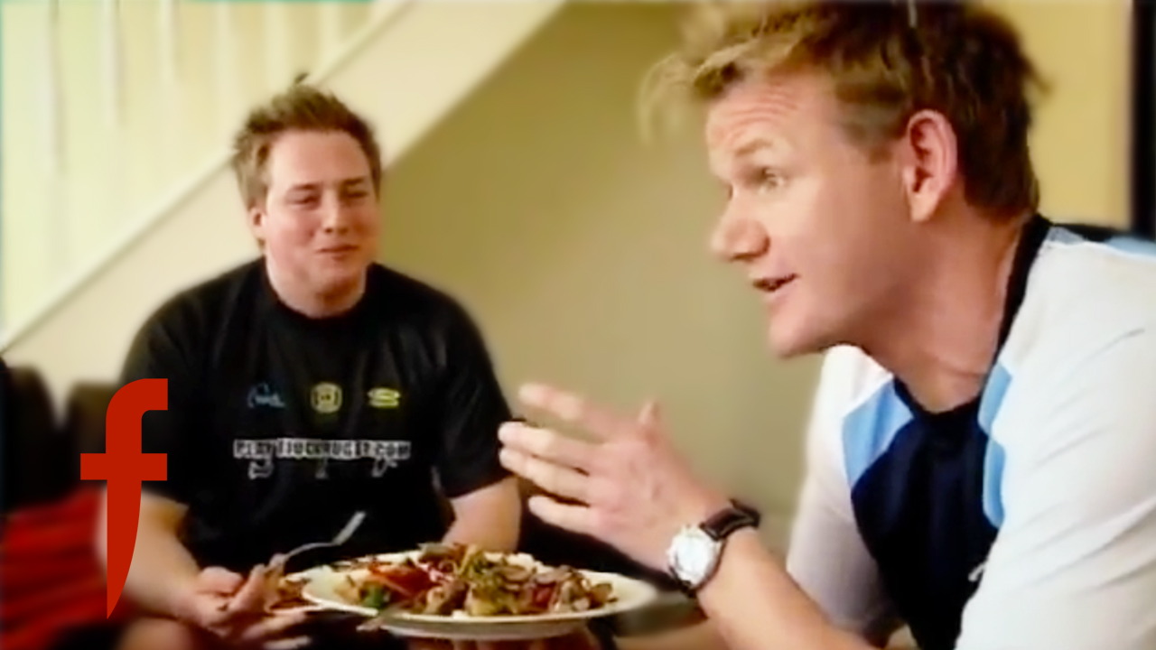 Chef Gordon Ramsay Vs Take Away Food