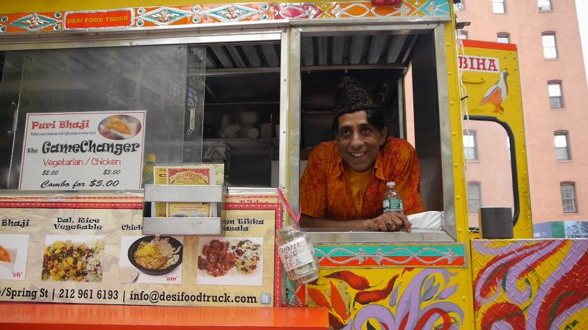 NYC Vendy Awards Cup 2014 Finalists: Desi Food Truck