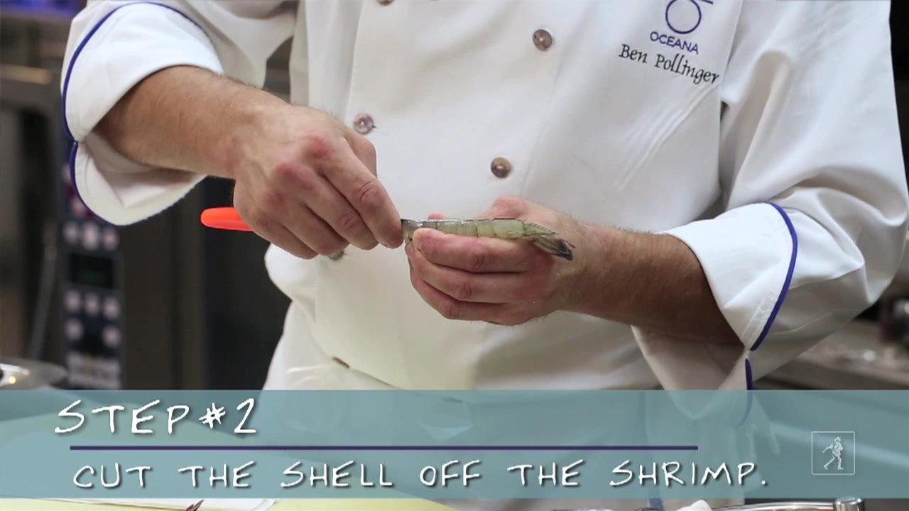 How to Clean Shrimp with Executive Chef Ben Pollinger