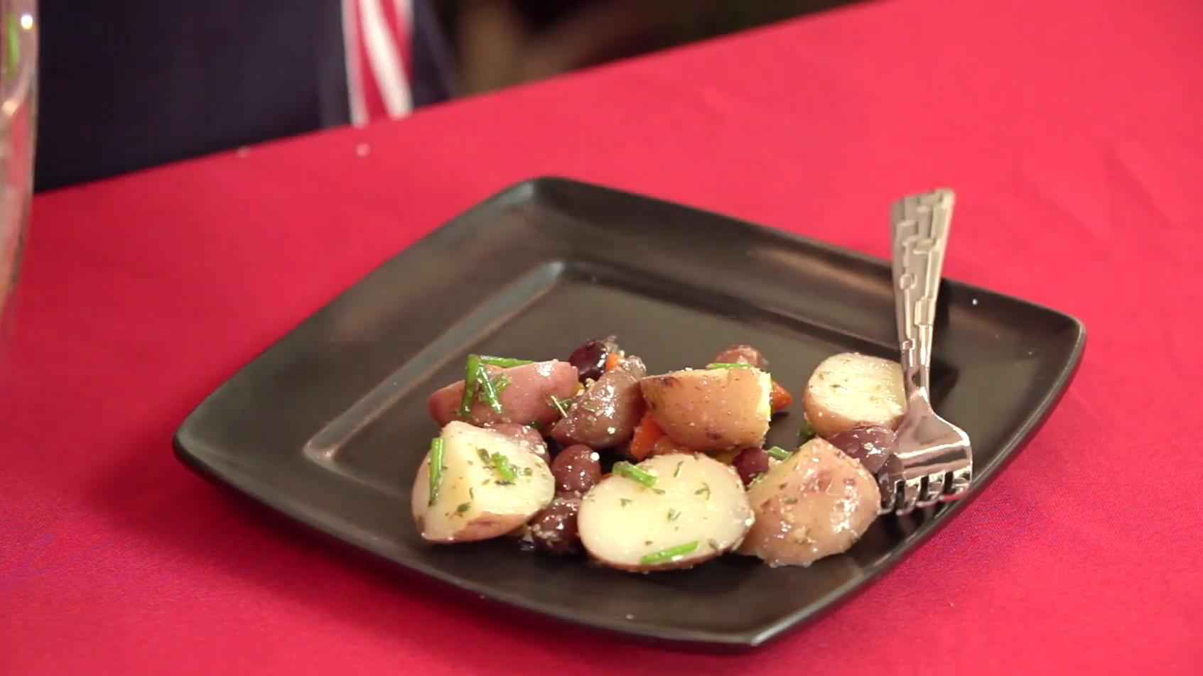 How to Make a Mediterranean Potato Salad