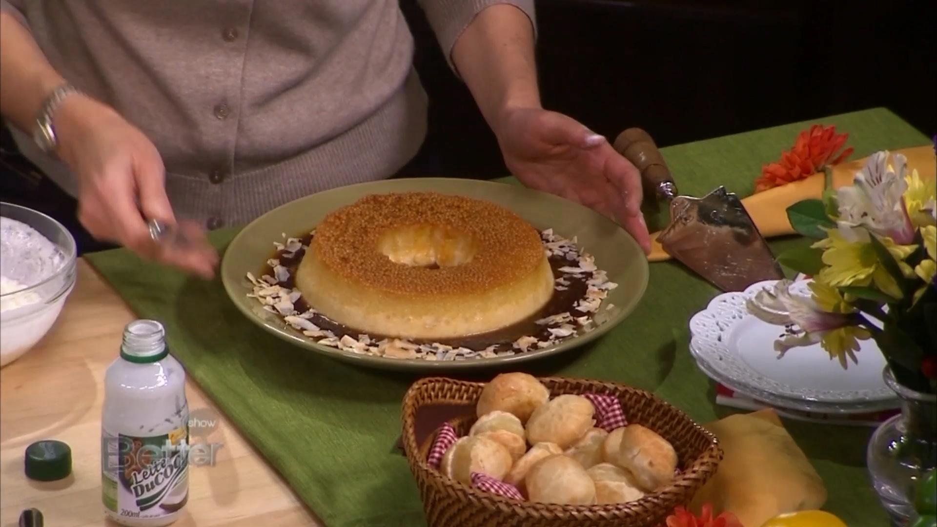 How to Make a Tapioca Pudding With Coconut Caramel Sauce