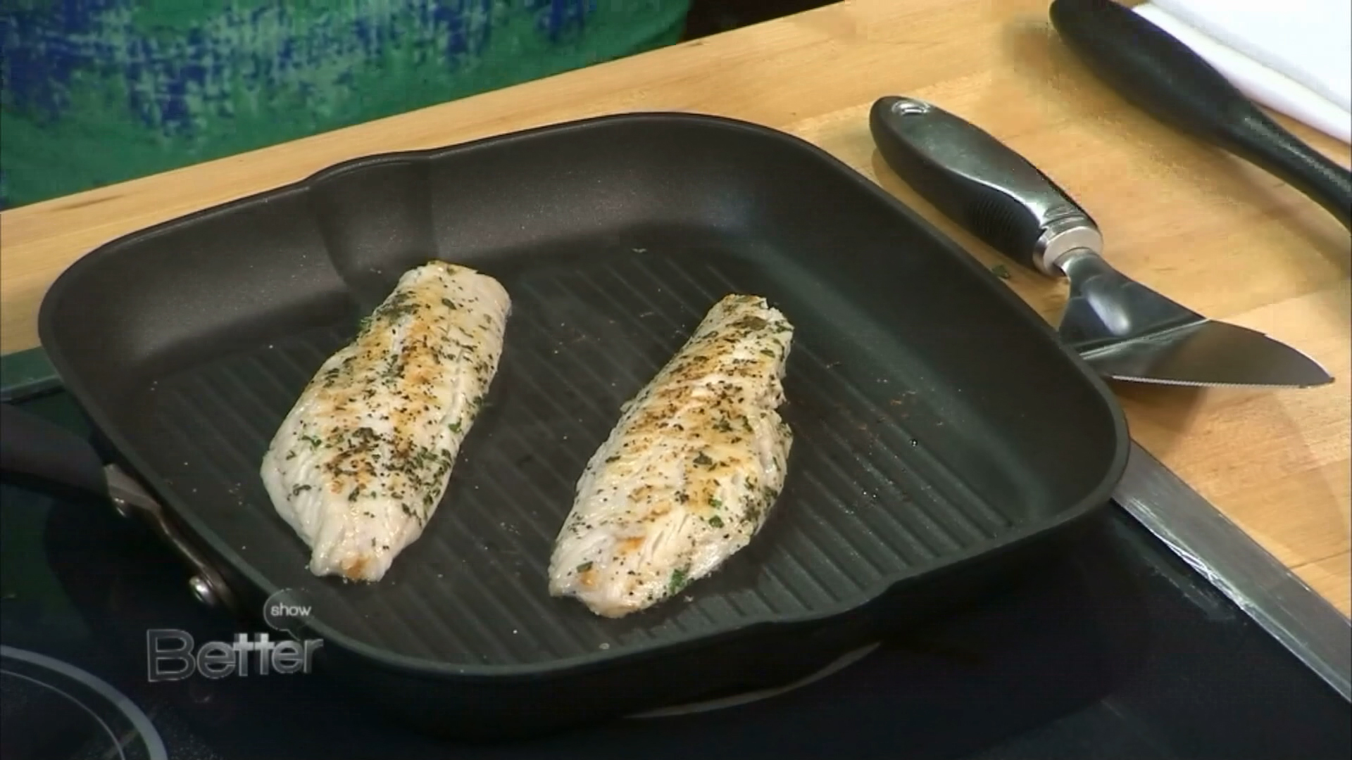 Chef Charles Bowman's Grilled Black Sea Bass Recipe