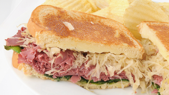 How to Make a Grilled Reuben Sandwich