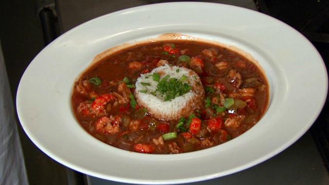Traditional Crawfish Etouffee