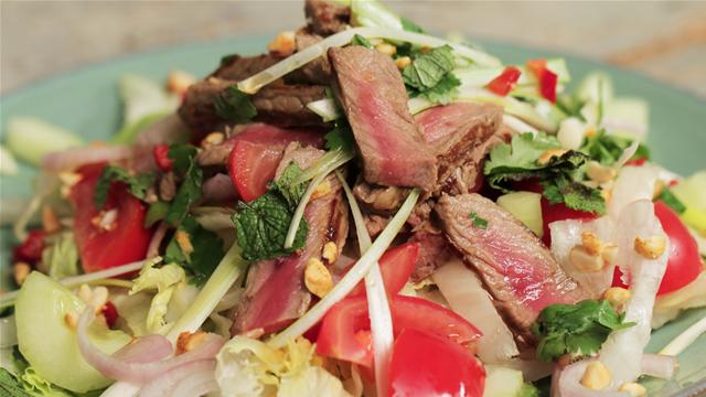How to Make a Thai Style Beef Salad