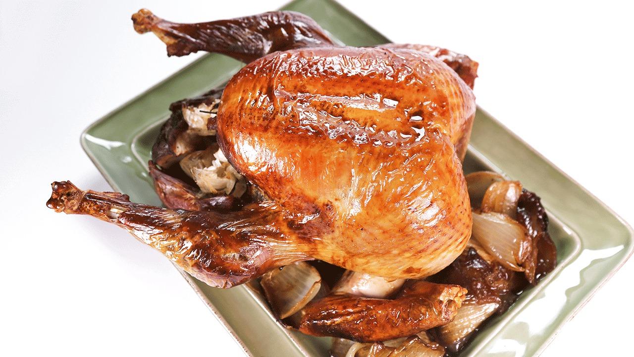 'The Chew': Apple Bourbon Turkey: Part 1